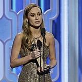 Brie Larson's Big Win