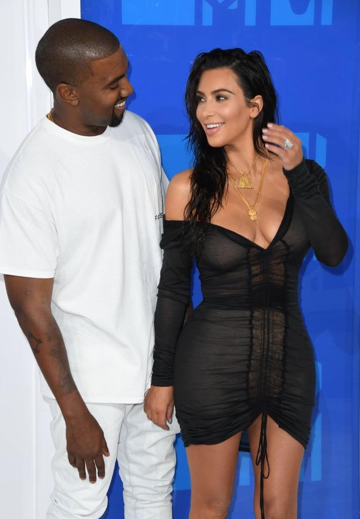 Kim Kardashian New Diamond Ring at MTV VMAs