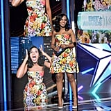 Kerry Washington saw double at the BET Awards.