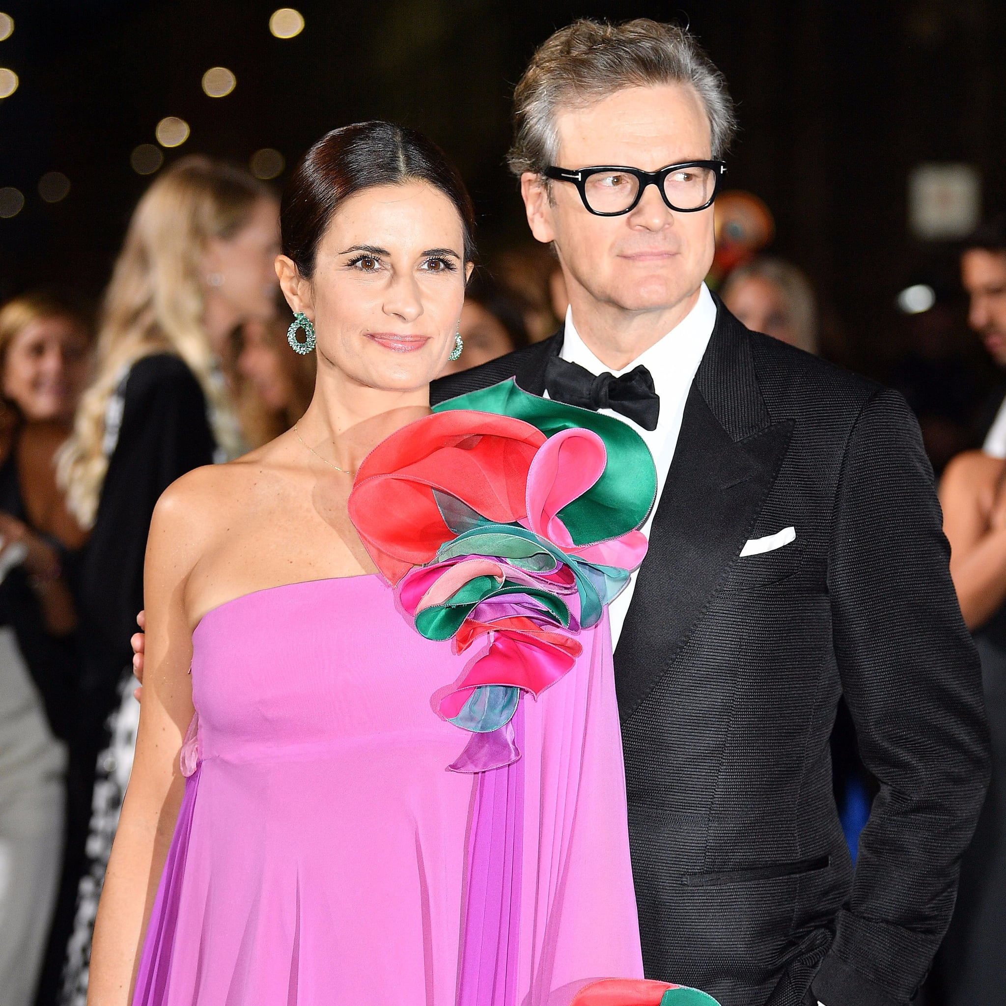 Colin Firth and Wife Livia Pictures | POPSUGAR Celebrity Photo 1