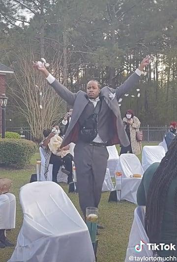 The Best Flower Man Wedding Videos on TikTok and Instagram