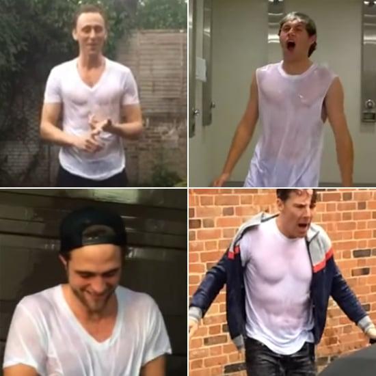 Hot Male Celebrities Doing the Ice Bucket Challenge | Videos
