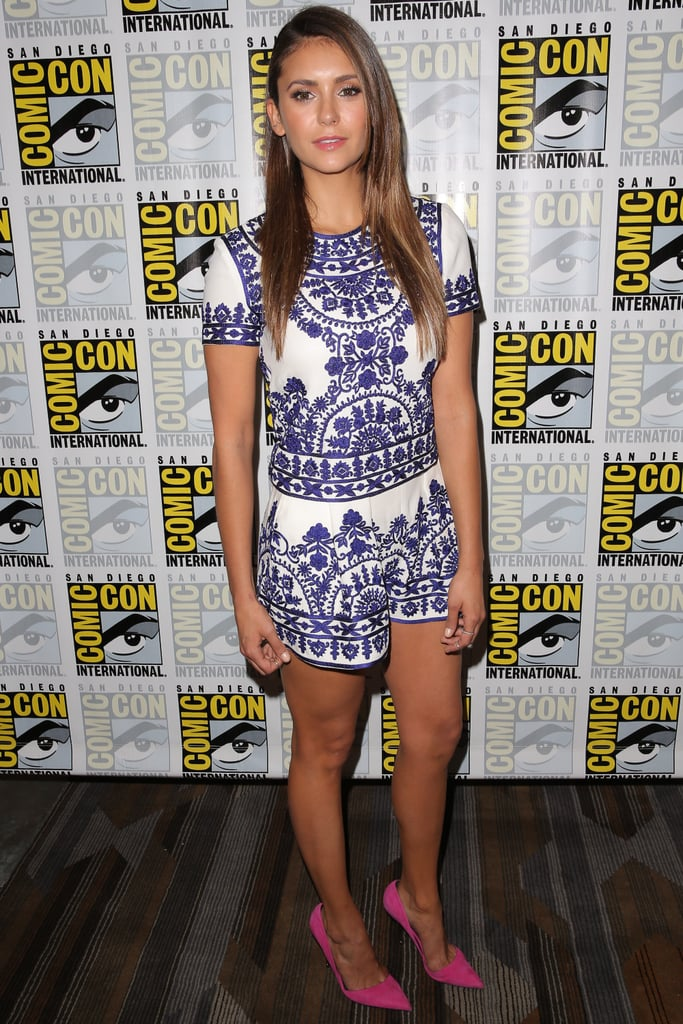 Nina stunned in a Naeem Khan set at the 2014 San Diego Comic-Con.