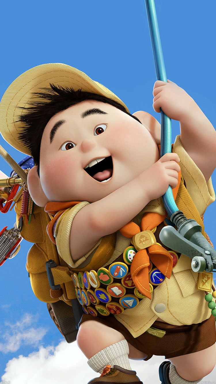 Russell From Up Wallpaper 33 Magical Disney Wallpapers For Your Phone Popsugar Tech Photo 25