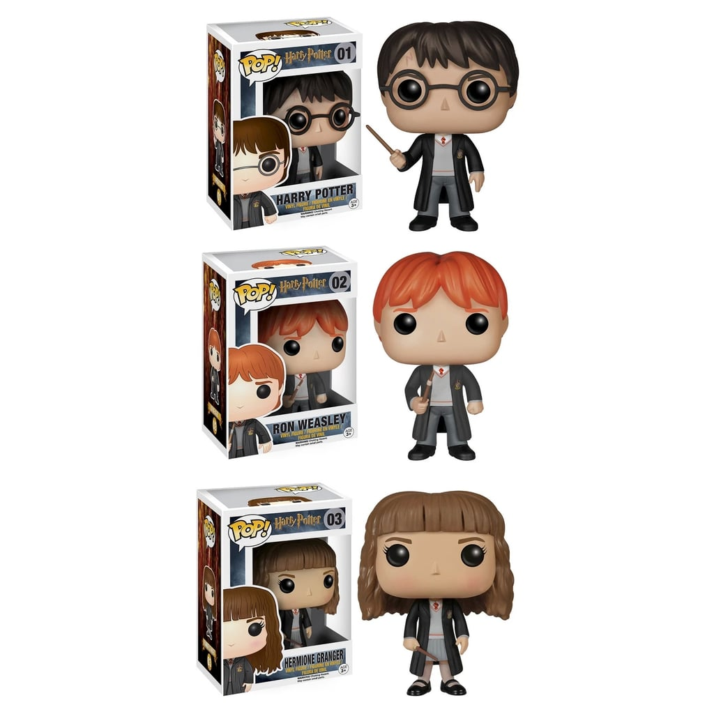 Funko Harry Potter POP! Collectors Set Featuring Harry Potter, Ron Weasley, and Hermione