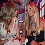 Taylor Swift and Anne V chatted at the awards.