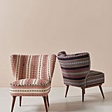Cheyenne-Striped Woven Accent Chair
