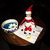 Relieve holiday stress like this little Elf with some calming meditation.