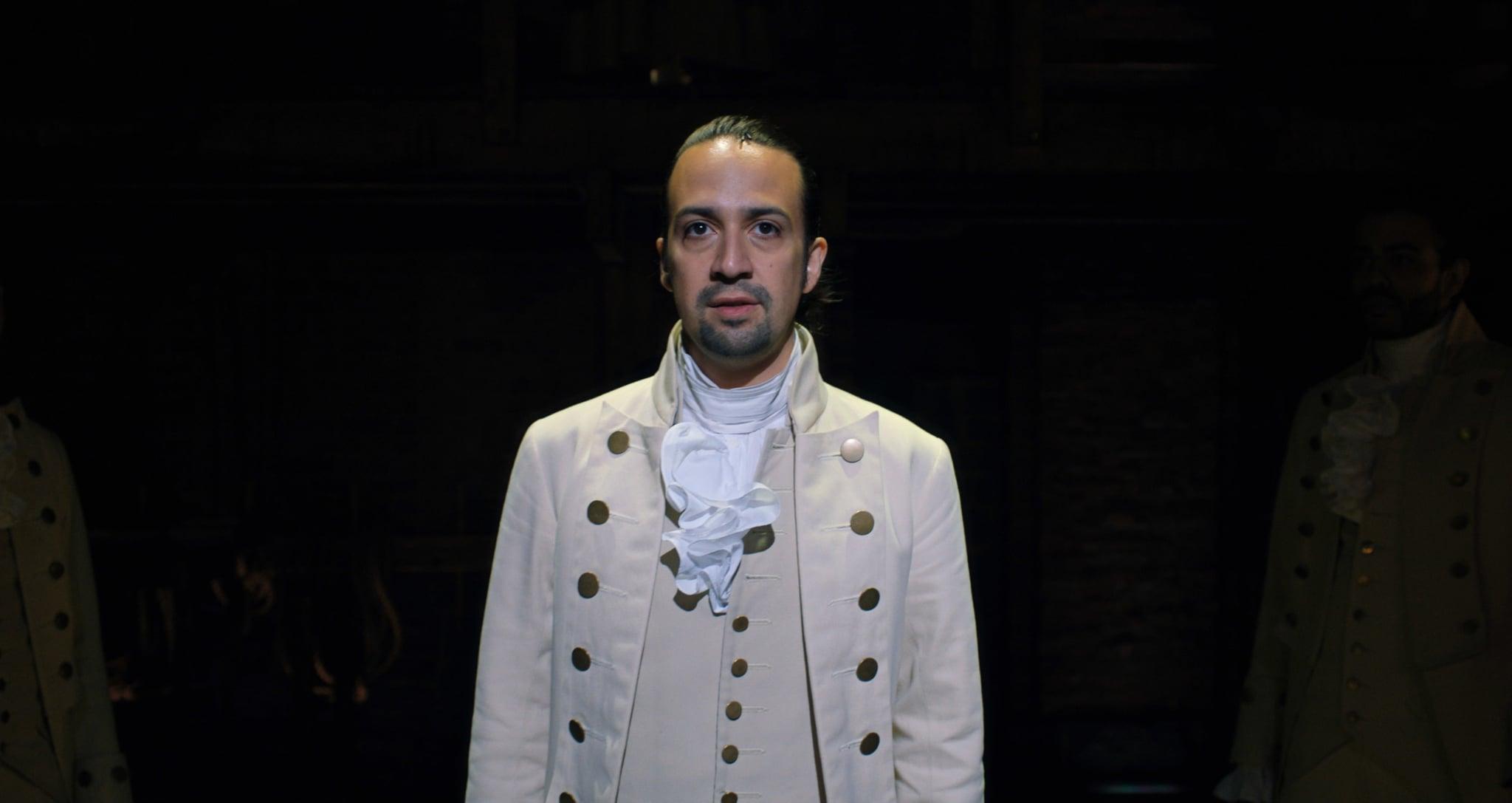 HAMILTON, Lin-Manuel Miranda as Alexander Hamilton, 2020.  Disney+ / Courtesy Everett Collection