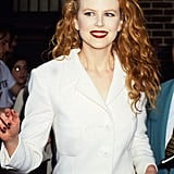 Nicole Kidman With Loose, Red Curls in 1995