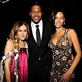 Sarah Jessica Parker posed with Michael Strahan and Nicole Murphy.