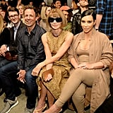 Seth Meyers and Kim Kardashian