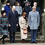 The Royal Family at Christmas Church Service
