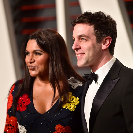 Mindy Kaling and BJ Novak at the Vanity Fair Party 2017