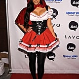 Kim Kardashian as Little Red Riding Hood