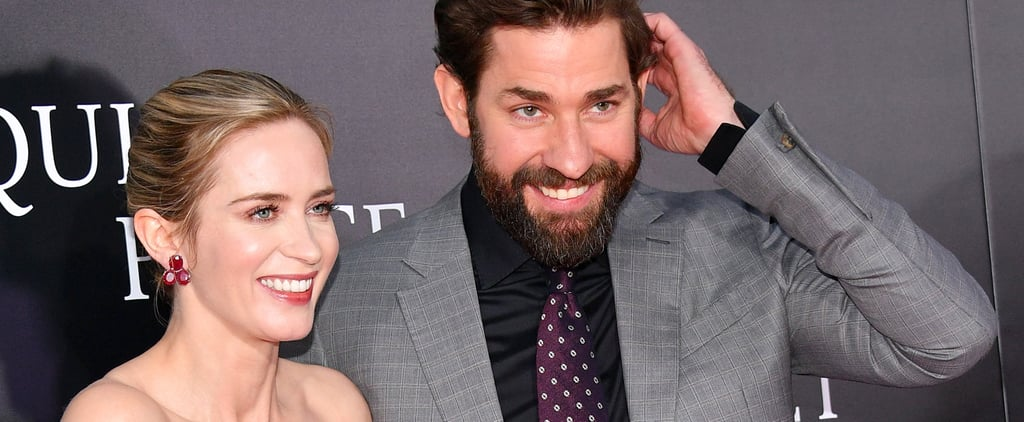 Emily Blunt Jokes That Her Children Like John Krasinski More