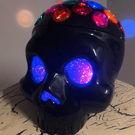 Target Has a Supercool Skull Disco Light For Halloween