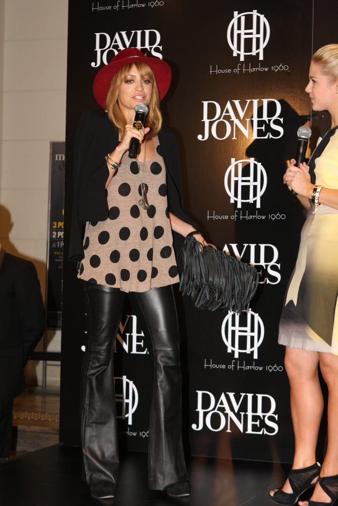 Nicole Richie's In Store Appearance At David Jones Sydney Today!