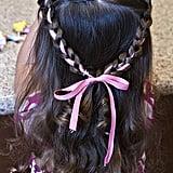 Princess Ribbon Braids