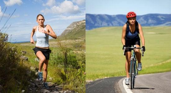 Running vs. Biking