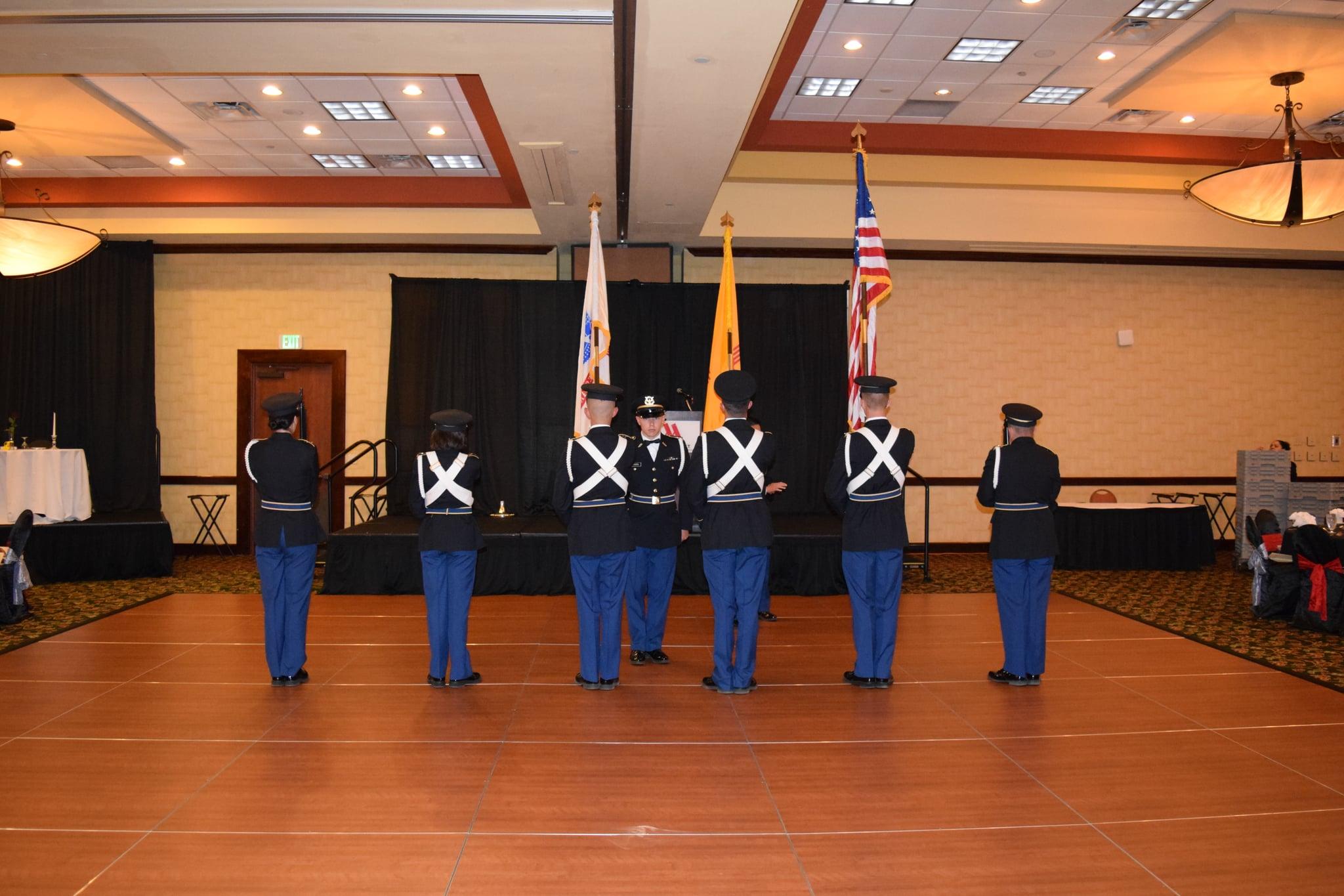 UNM ROTC Color Guard