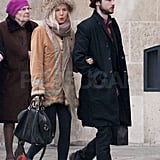 Sienna Miller and Tom Sturridge saw the sights.