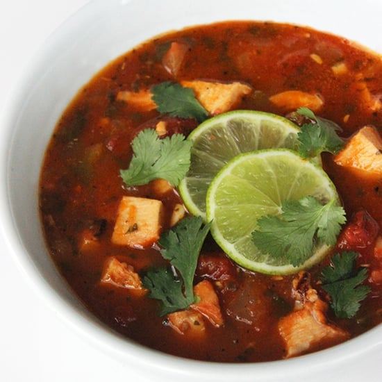 Low-Carb Tortilla Soup