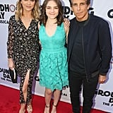 Ben Stiller and Christine Taylor Hit the Red Carpet With Their 15-Year-Old Daughter