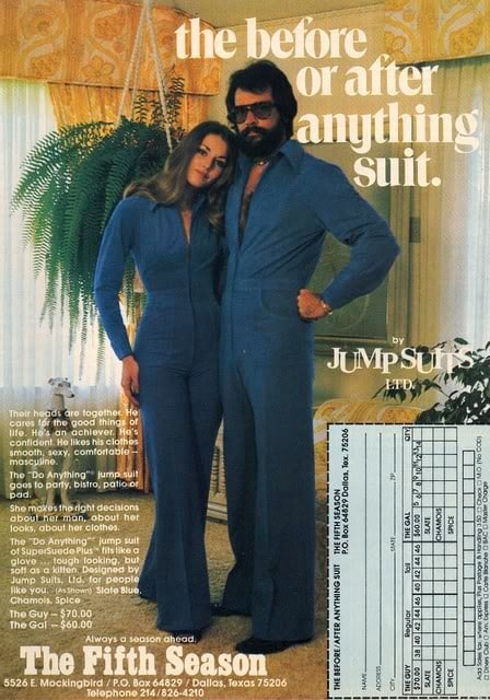 The Snuggie suit for going out on the town.