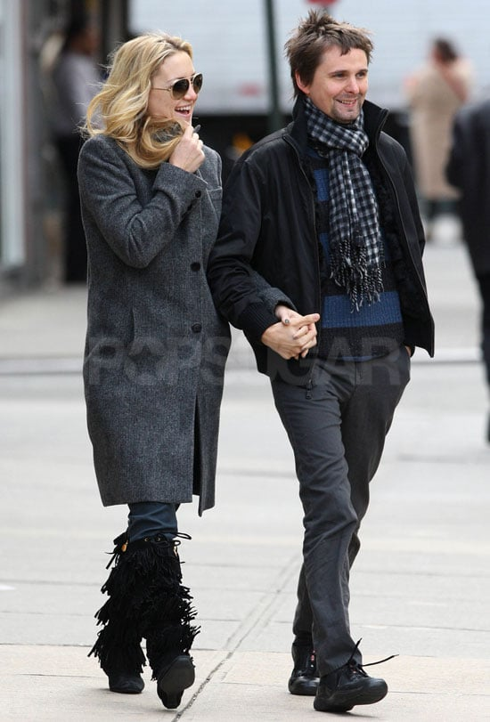 Pictures of Kate Hudson and Matt Bellamy