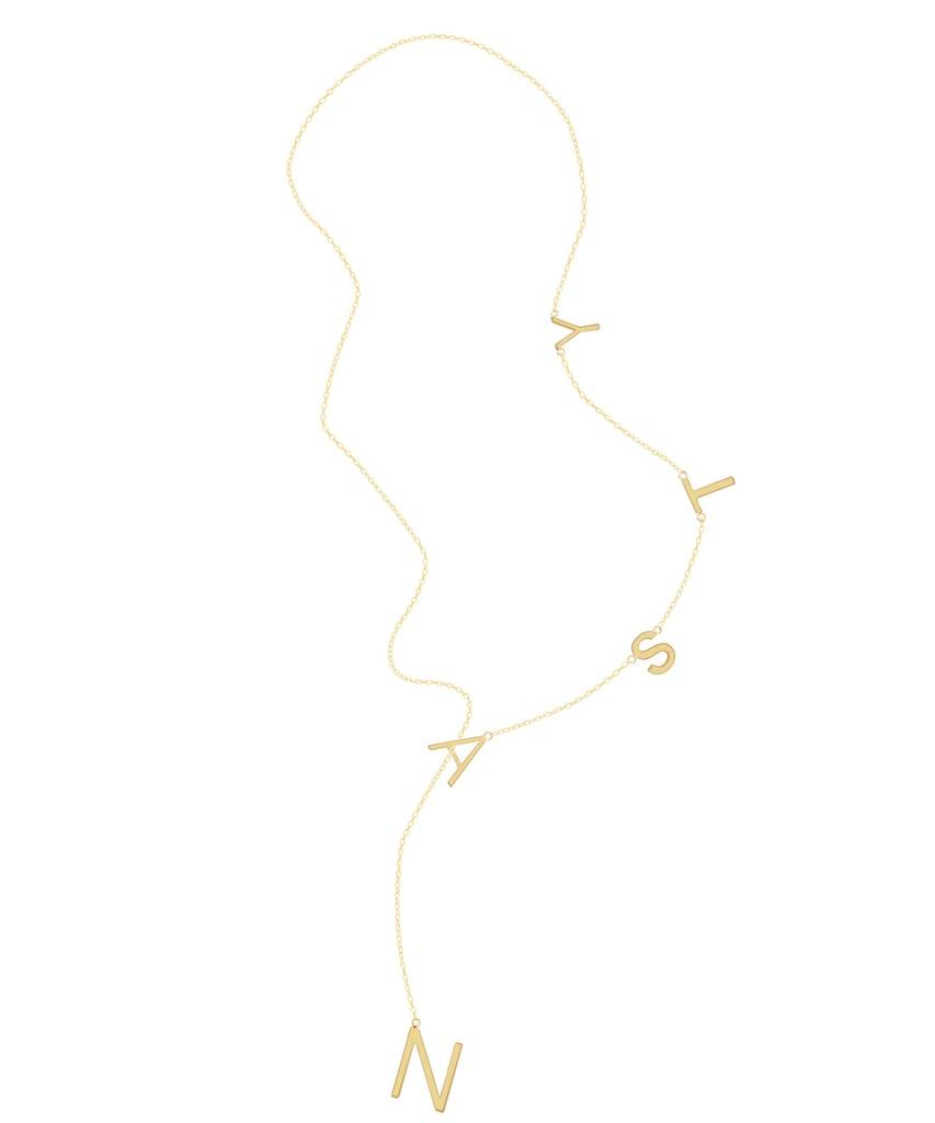 Adornia Nasty Lariat Necklace