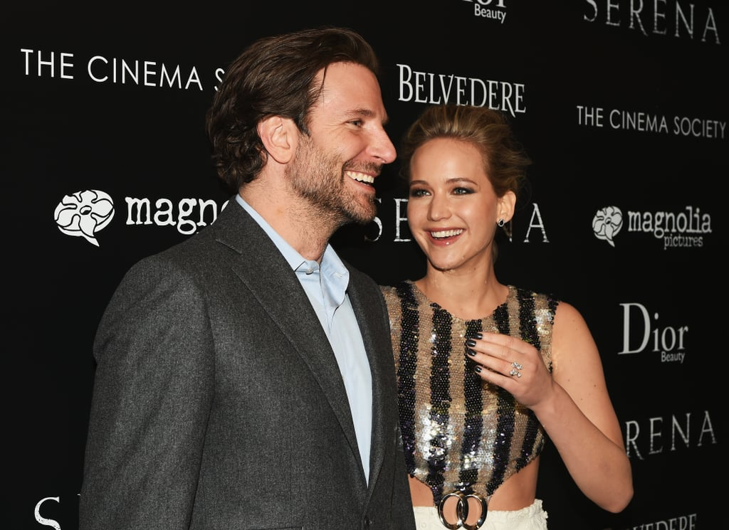 Jennifer Lawrence and Bradley Cooper at Serena Event Photos