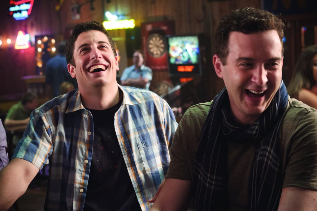 Jason Biggs as Jim and Eddie Kaye Thomas as Finch in American Reunion.  Photo courtesy of Universal Pictures