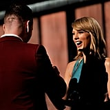 Taylor Swift Was So Thrilled to Present Him an Award . . .