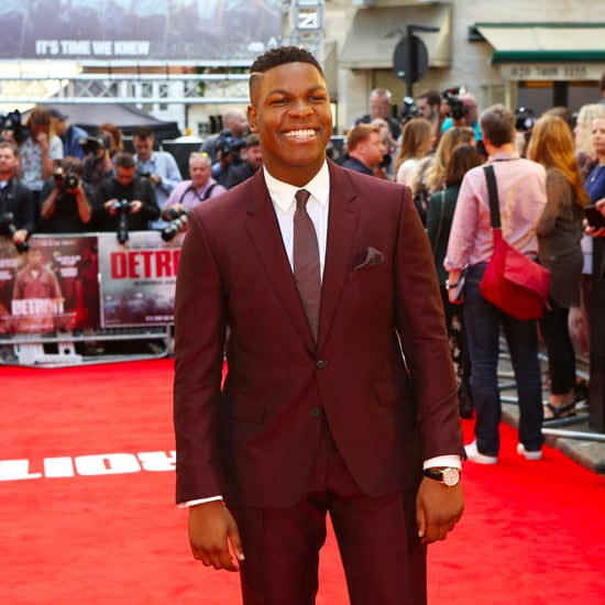 John Boyega at the Detroit Premiere