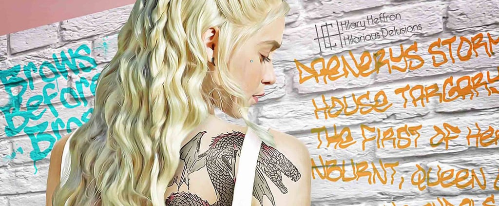 Daenerys Targaryen Gets Reimagined as the Girl With the Dragon Tattoo — and It's Badass