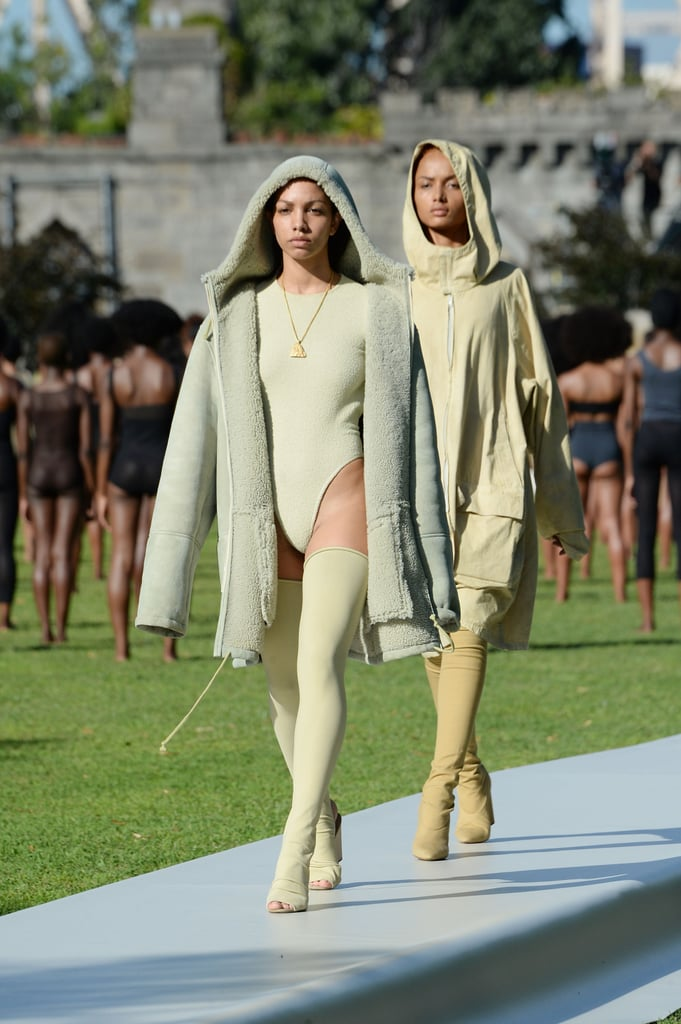 The Jewels Were First Revealed on the Yeezy Season 4 Runway
