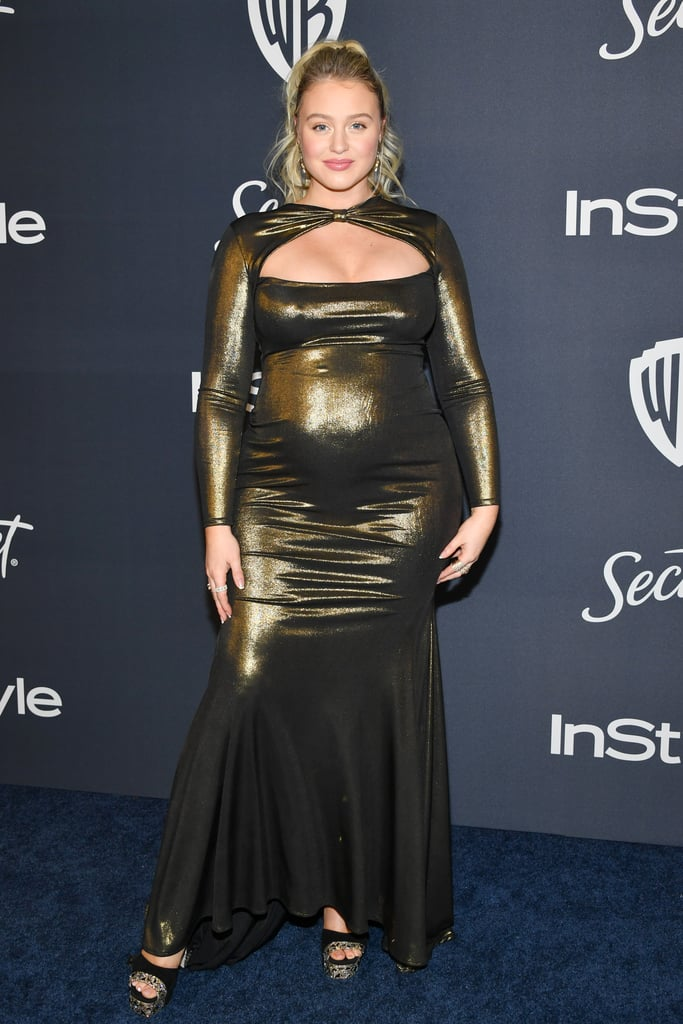 Iskra Lawrence at the 2020 Golden Globes Afterparty