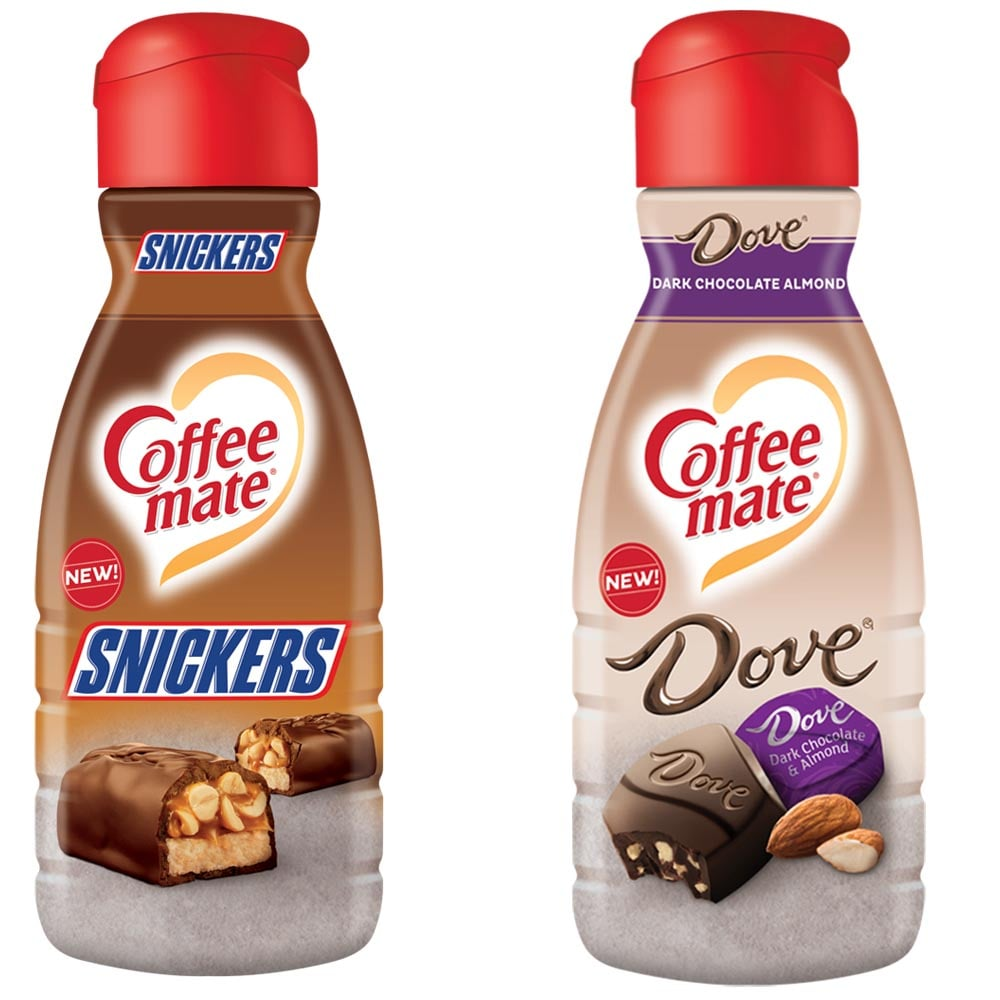 Image result for coffeemate snickers and dove