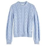 POPSUGAR Pointelle Sweater