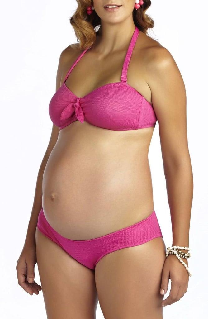 335c296d4f7ff Pez D or  Rimini  Textured Maternity Bikini
