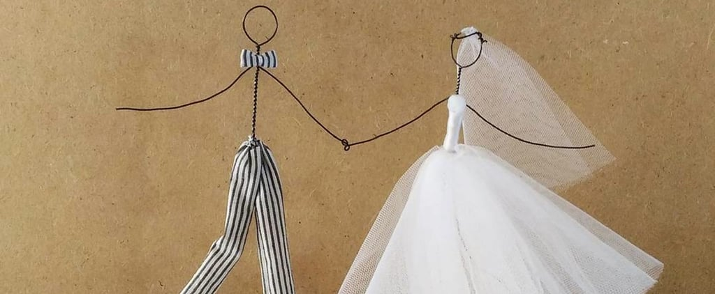 These Unusual Wedding Cake Toppers Are the Perfect Finishing Touch