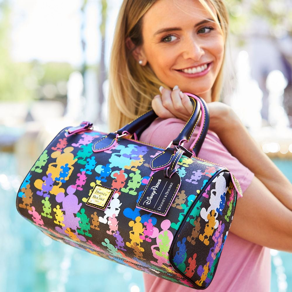 Mickey Mouse Satchel by Dooney and Bourke