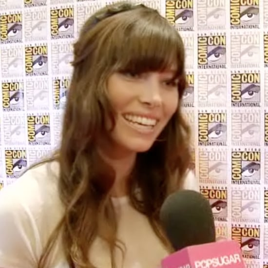 Jessica Biel Interview at Comic-Con (Video)