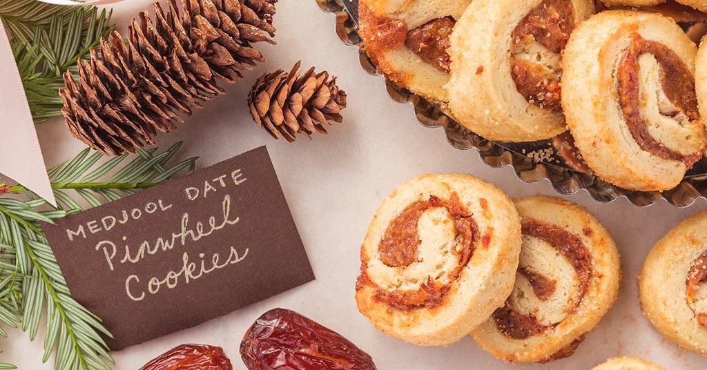 Medjool Date Pinwheel Cookies