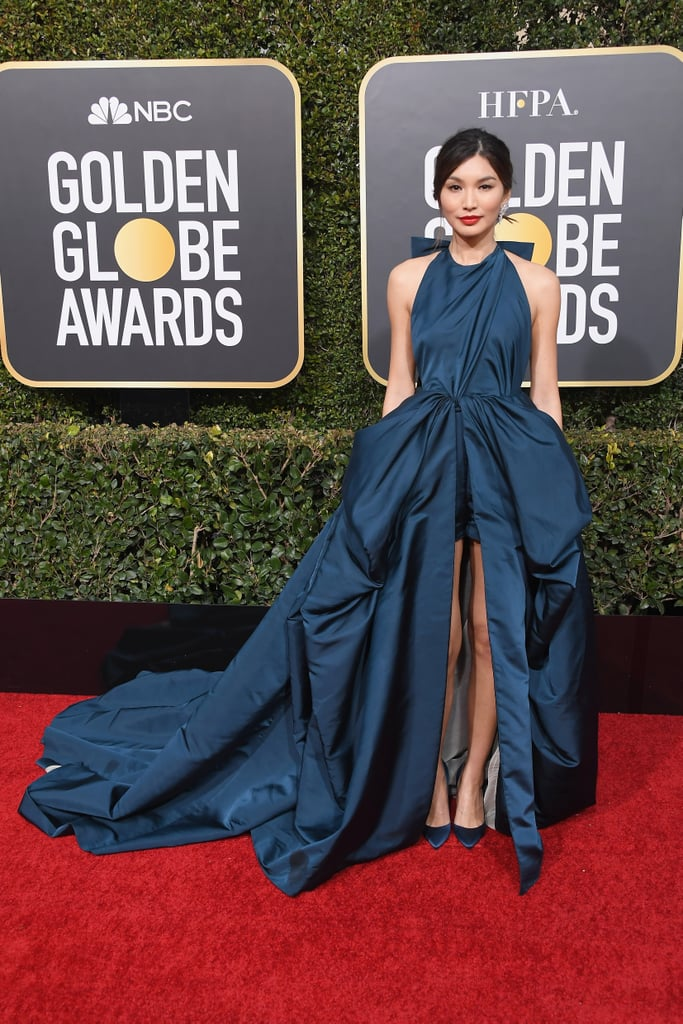 Gemma Chan at the 2019 Golden Globes