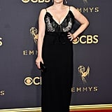 Rachel Bloom Gucci Dress 2017 Emmy Awards
