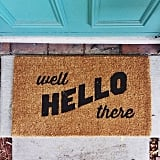 Happy Welcome Mat