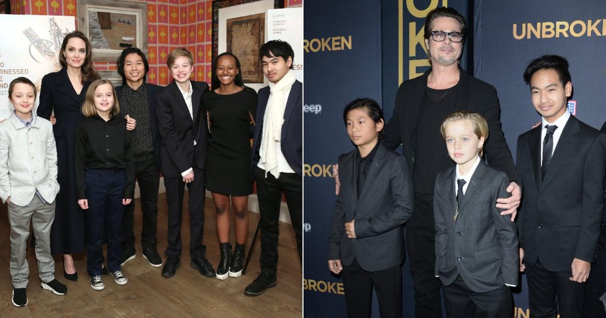 How Many Kids Do Angelina Jolie and Brad Pitt Have?   POPSUGAR Family