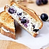 Grape and Goat Cheese Grilled Sandwich